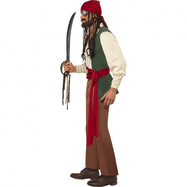 Úvod   Kostým - Pirát z Karibiku · Šifónová stuha 25mm 25m ... 1612b3cac12