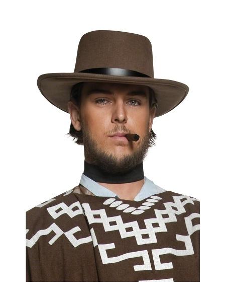 Kovbojský klobouk deluxe - barva hnědá - Ptákoviny Smíchov fafd8f07a1