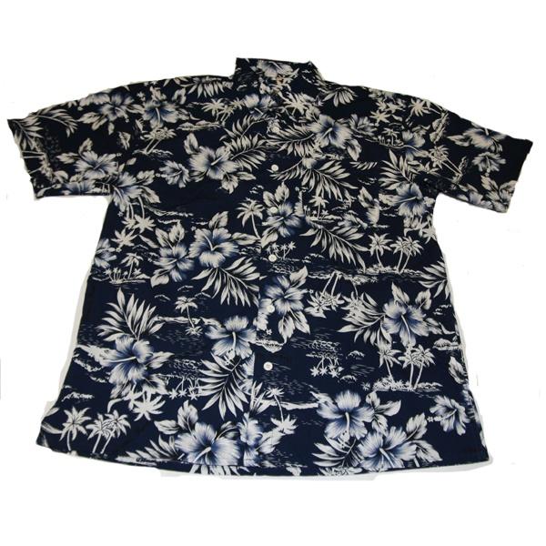 Havajská košile - Navy 5175d057c4