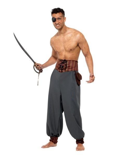 Pirátské kalhoty - černé - Ptákoviny Smíchov c2a7cf96d13